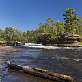 Kettle River Big Spring Falls 7 by John Brueske