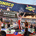 Kevin Harvick In The Winners Circle At Texas Motor Speedway by Paul Quinn