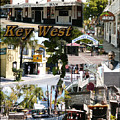Key West Collage by David  Starnes