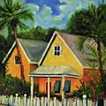 Key West Cottage by Carolyn Shireman