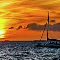 Key West Double Sun Sunset by Bob Slitzan