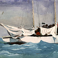 Key West Hauling by Winslow Homer