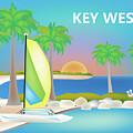 Key West Horizontal Scene by Karen Young