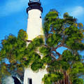Key West Lighthouse by Darlene Green
