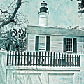 Key West Lighthouse Impression by John Stephens