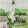 Key West Lighthouse by Maggii Sarfaty
