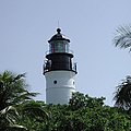 Key West Lighthouse by Nancy Taylor