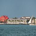 Key West Shoreline by Frank Mari