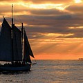 Key West Sunset Sail 6 by Bob Slitzan