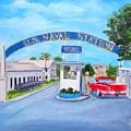 Key West U.s. Naval Station by Linda Cabrera