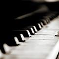 Keys Of Old Piano by Javier Sánchez
