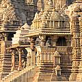 Khajuraho Temple, Chhatarpur District by Panoramic Images
