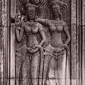 Khmer Court Dancers by Nichon Thorstrom