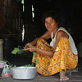 Khmer Woman by John Meader