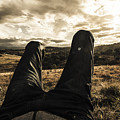 Kicking Back In Cranbrook by Jorgo Photography - Wall Art Gallery