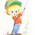 Kid Golf by Laura Greco