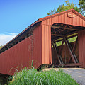Kidwell Covered Bridge by Jack R Perry
