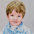 Kieran - Commissioned Portrait by Diane Ziemski