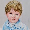 Kieran - Commissioned Portrait by Diane Ziemski