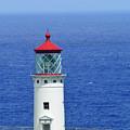 Kilauea Point National Wildlife Refuge Lighthouse Closeup by Bruce Gourley