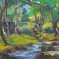 Kilauea Stream by Cynthia Riedel