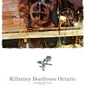 Killarney  Ontario Boathouse Poster Series by Bob Salo