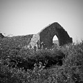 Kilmanaheen Church Ruins Ennistymon Ireland by Teresa Mucha