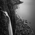 Kilt Rock Waterfall by Dave Bowman