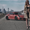 #kim And #porsche #gt3rs #print by ItzKirb Photography