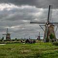 Kinderdijk Windmill by John Johnson