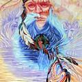 American  Kindred Spirits Mandala by Sigrid Tune
