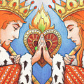 King And Queen Of Hearts by Amy S Turner
