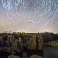 King And Queen Star Trails by Aaron J Groen