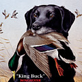 King Buck    1959 Federal Duck Stamp Artwork by Maynard Reece