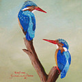 King Fishers by Yvonne Carola-Pearce