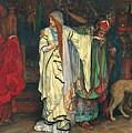 King Lear. Act I Scene I by Edwin Austin Abbey