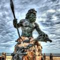 King Neptune Virginia Beach  by Greg Hager