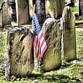 King's Chapel Cemetery  by Elizabeth Dow
