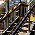Kings Hwy Subway Station In Brooklyn by Zal Latzkovich