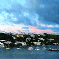 King's Wharf Bermuda Harbor Sunrise by Susan Savad