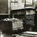 Kingston Pa Kingston Coal Co Ticket Board At The Breaker 1924 by Arthur Miller