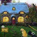 Kinkade's Worst Nightmare 2  by Leah Saulnier The Painting Maniac