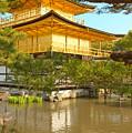 Kinkakuji Golden Pavilion Kyoto by Sebastian Musial