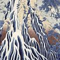 Kirifuri Fall On Kurokami Mount by Hokusai