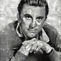 Kirk Douglas Hollywood Actor by Mary Bassett