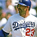 Kirk Gibson, Los Angeles Dodgers by Thomas Pollart