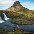 Kirkjufell Waterfall by James Udall