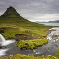 Kirkjufellsfoss On Snaefellsnes Peninsula Iceland by Markus Ulrich