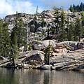 Kirkwood Lake In The High Sierras by Frank Wilson