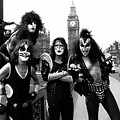Kiss in London 1976  by Chris Walter